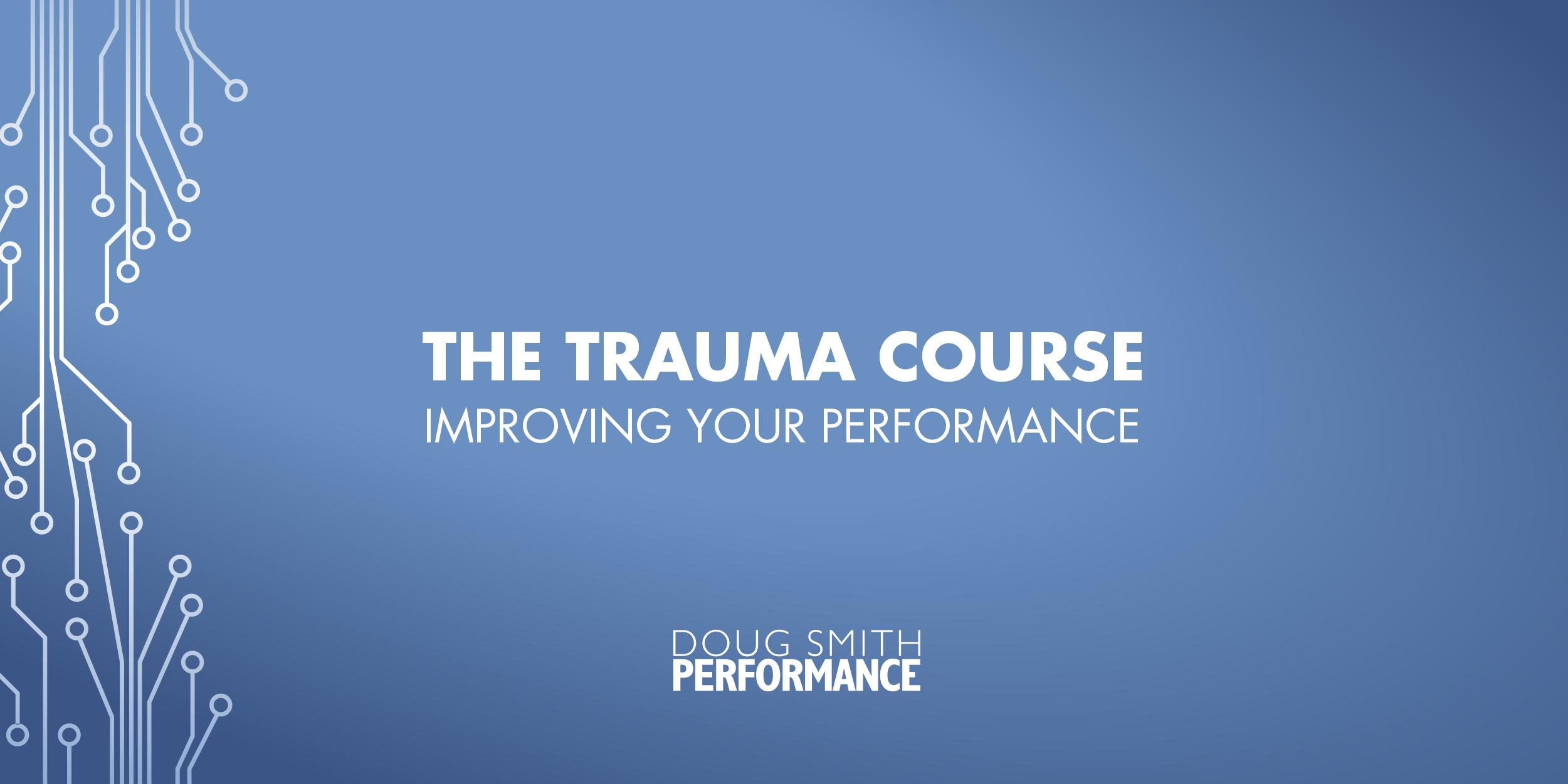 Trauma Course_Cover